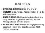 h 16 rex 5