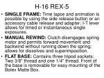 h 16 rex 55