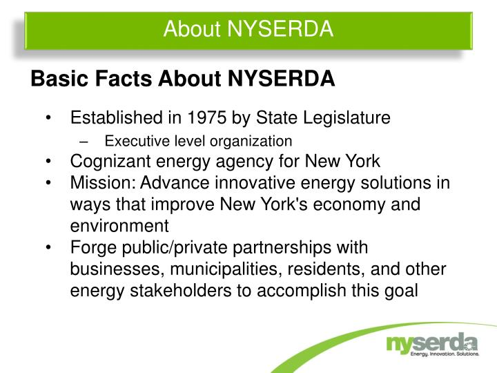 About nyserda