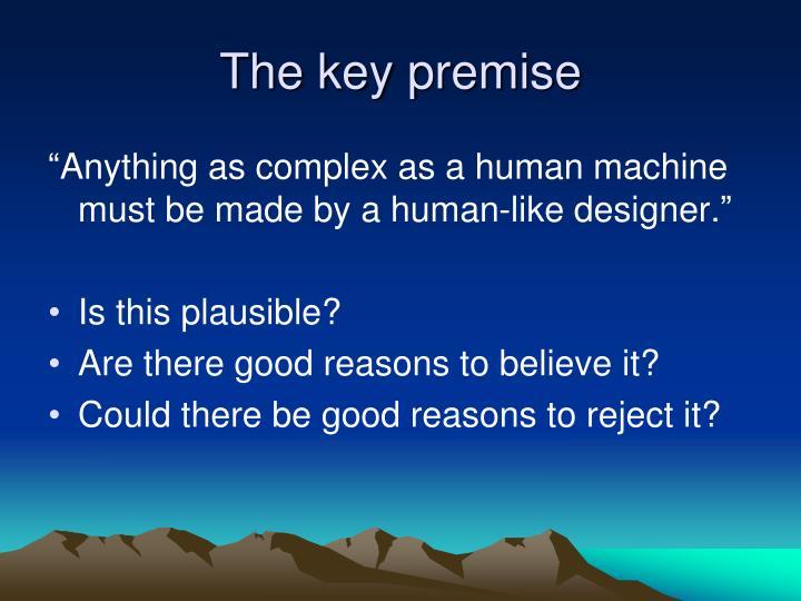 The key premise