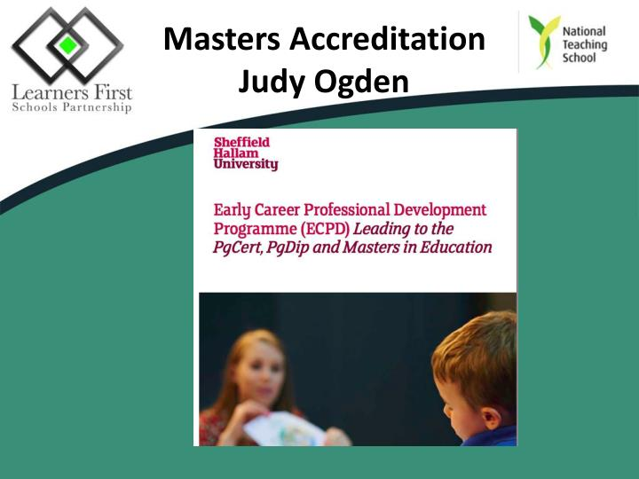Masters Accreditation