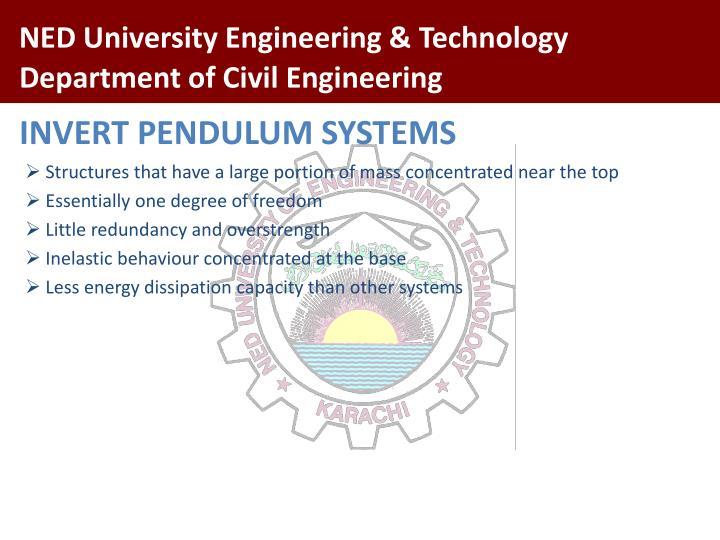 INVERT PENDULUM SYSTEMS