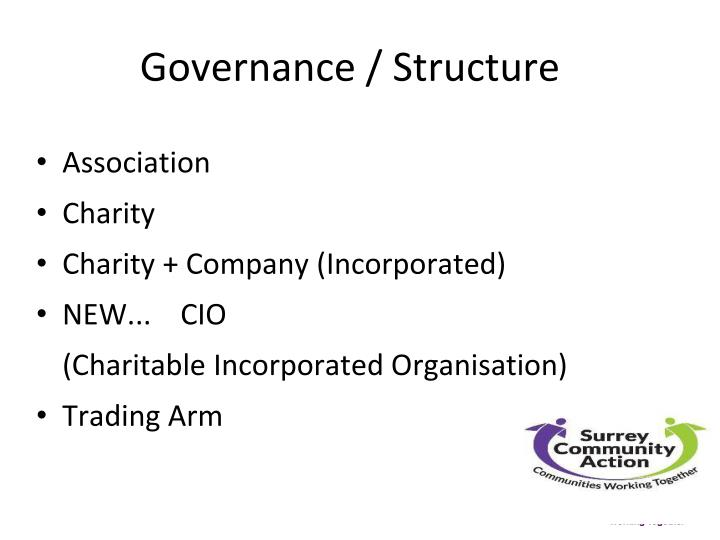 Governance / Structure