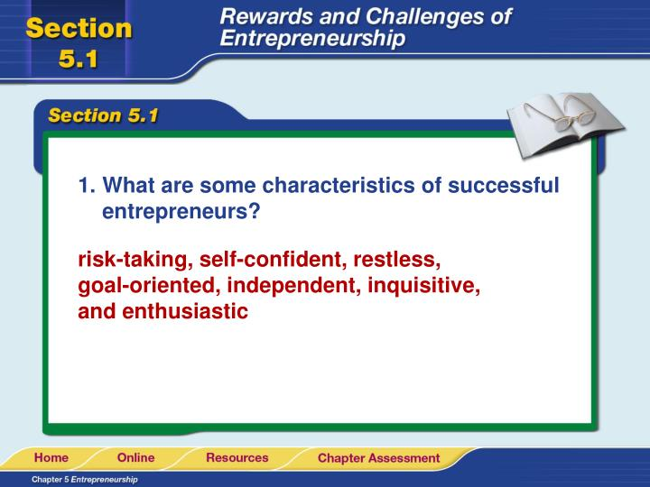 What are some characteristics of successful entrepreneurs?