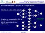 borne inf rieure graphe de compatibilit1