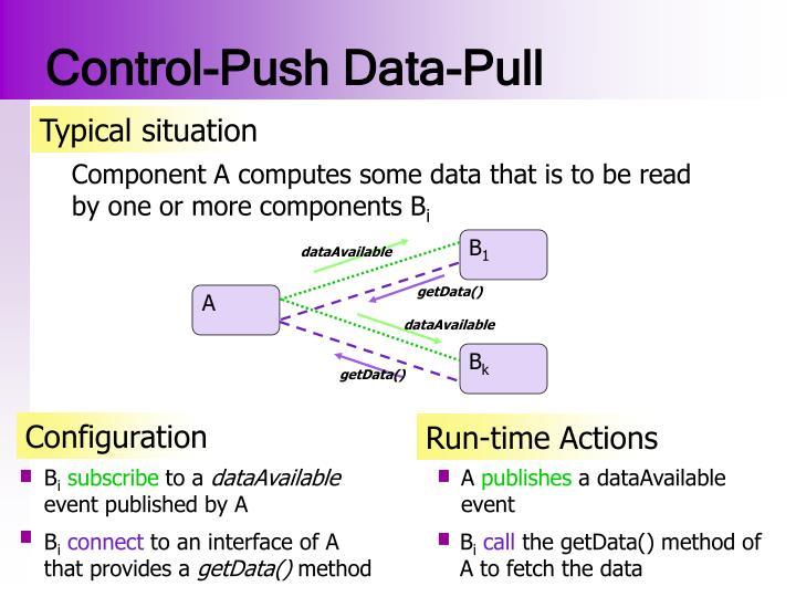 Control-Push Data-Pull