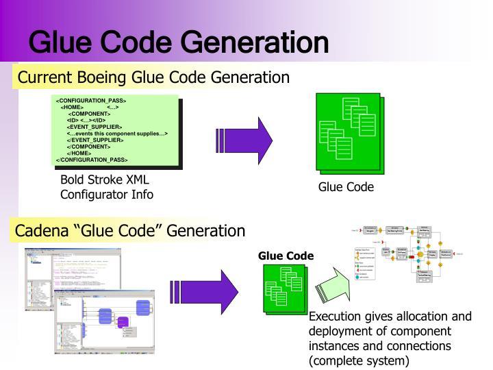 Glue Code Generation
