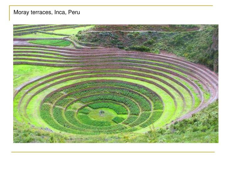 Moray terraces, Inca, Peru