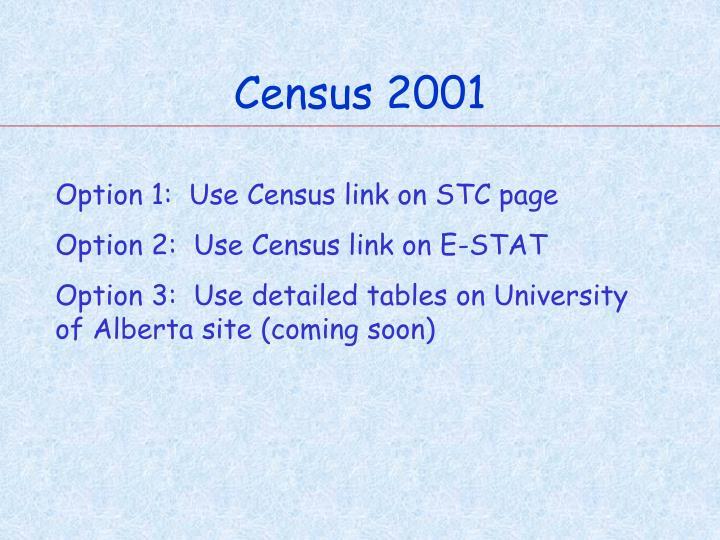 Census 2001