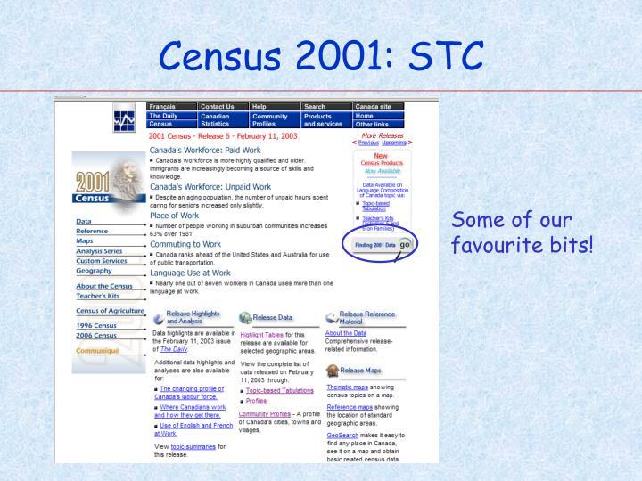 Census 2001: STC