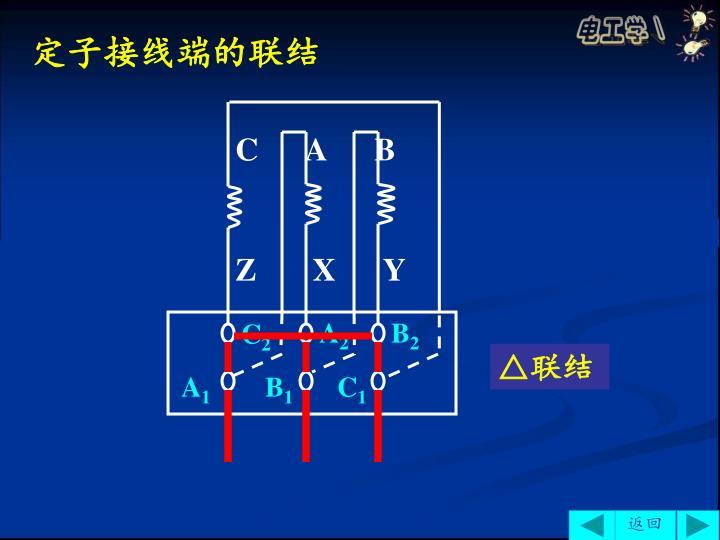 定子接线端的联结