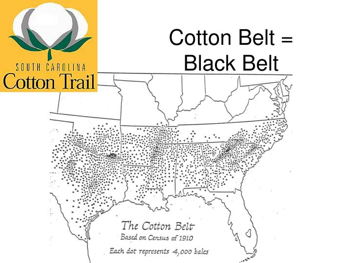 Cotton Belt = Black Belt