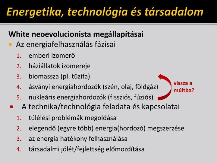 Energetika, technológia