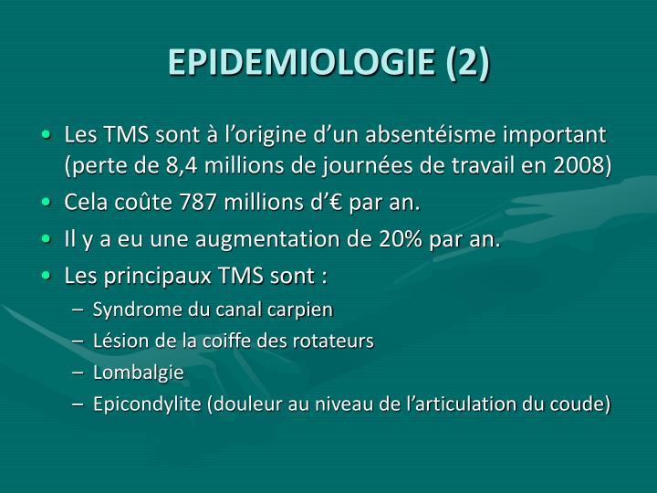 EPIDEMIOLOGIE (2)
