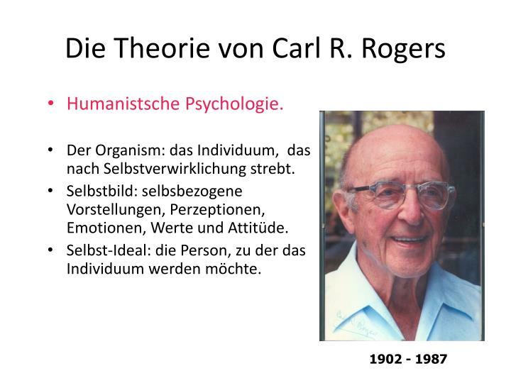 Die Theorie von Carl R. Rogers