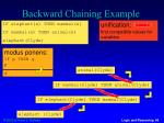 backward chaining example5