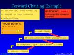forward chaining example5