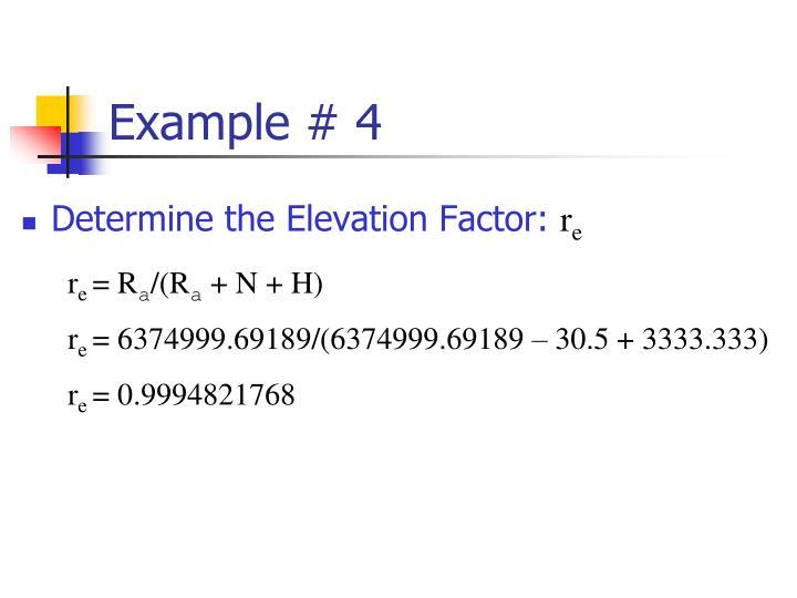 Example # 4