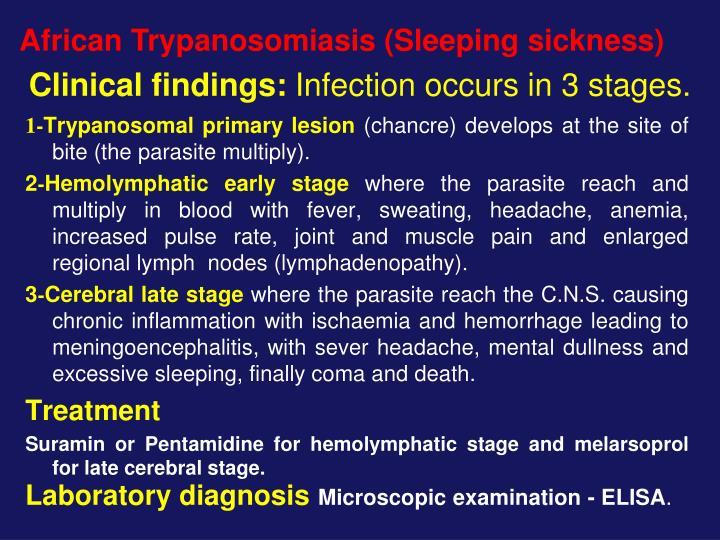 African Trypanosomiasis (Sleeping sickness)