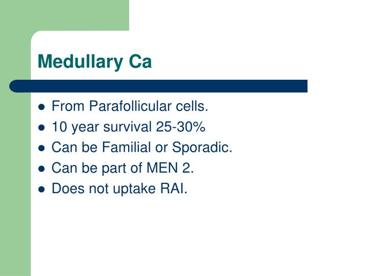 Medullary Ca