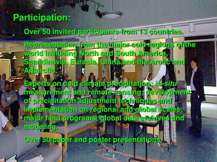 Participation: