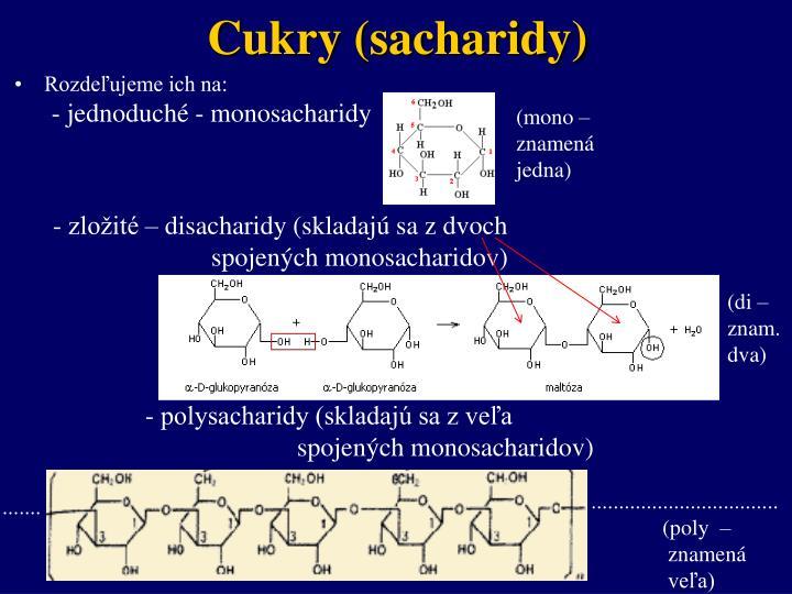 Cukry (sacharidy)