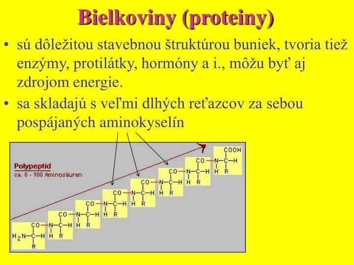Bielkoviny (proteiny)