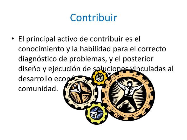 Contribuir