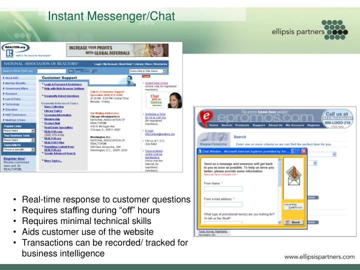 Instant Messenger/Chat