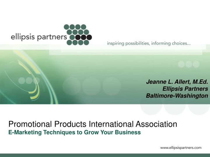 Promotional products international association