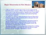 major discoveries in new mexico