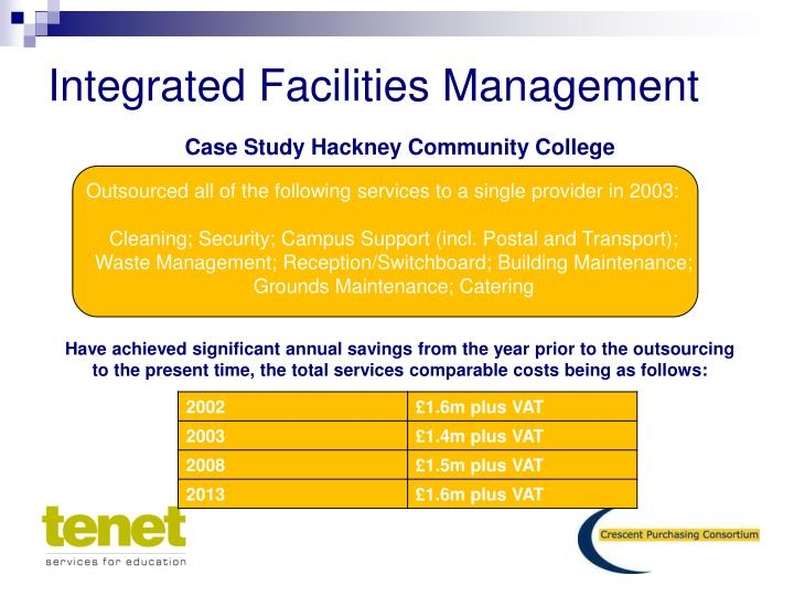 facilities management case study