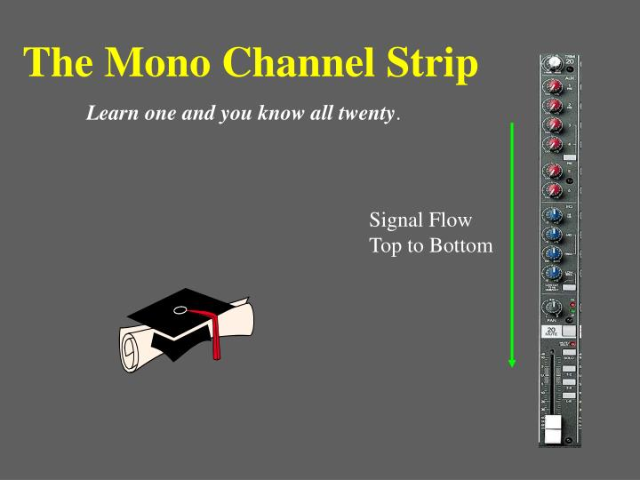 The Mono Channel Strip