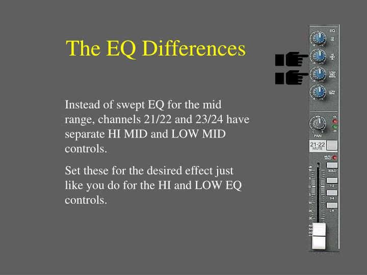 The EQ Differences