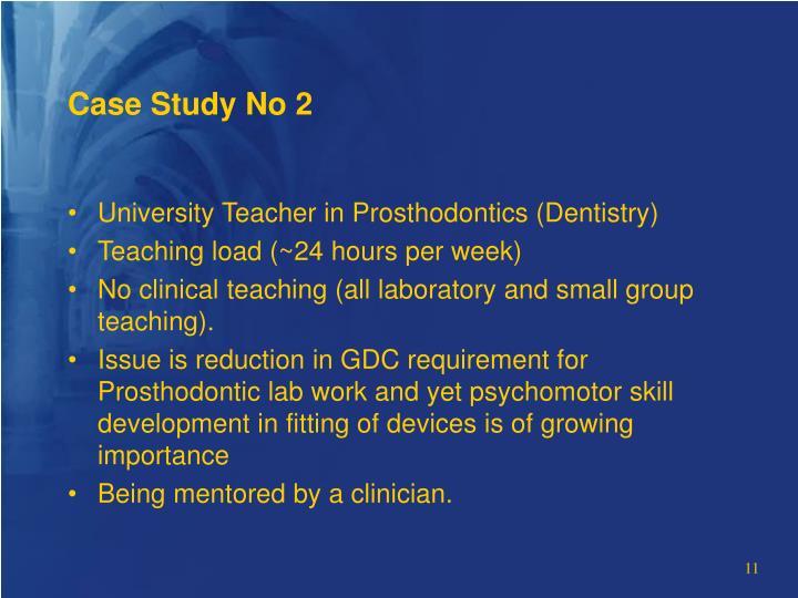 Case Study No 2