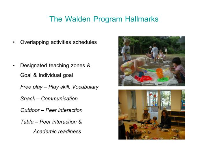 social interactions in walden and social Four out of five children enter kindergarten with the level of positive social skills that facilitate better school outcomes.