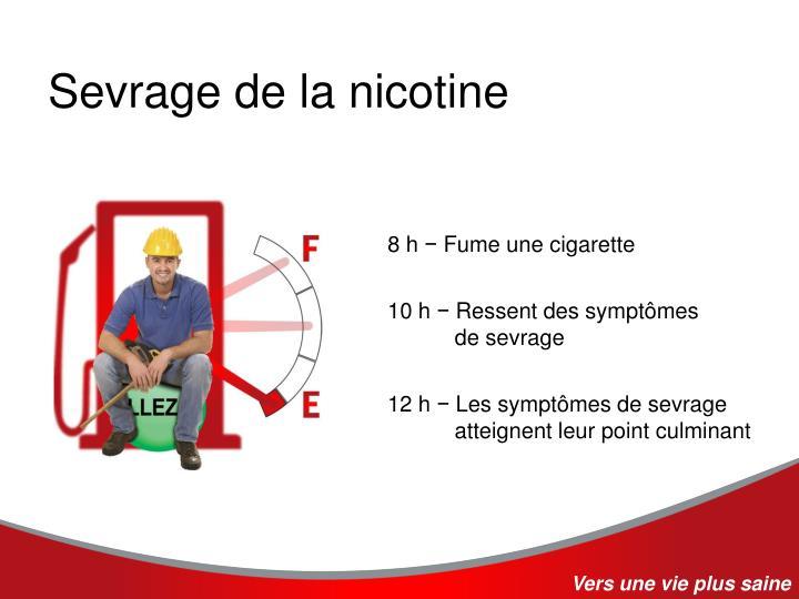Sevrage de la nicotine