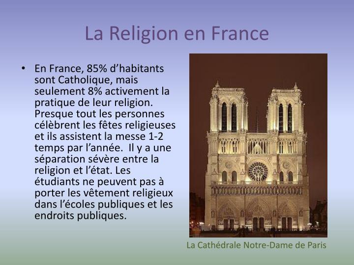La Religion en France