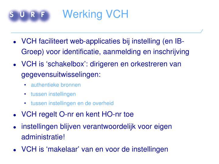 Werking VCH