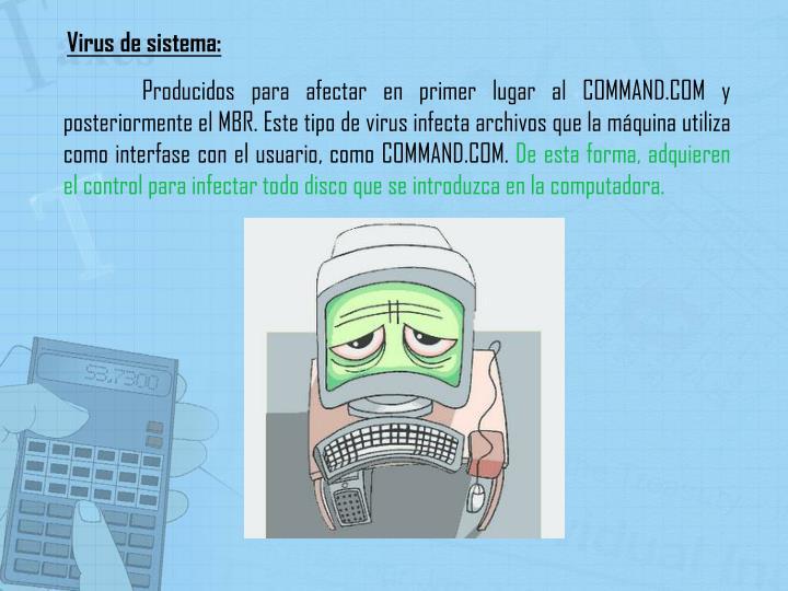 Virus de sistema: