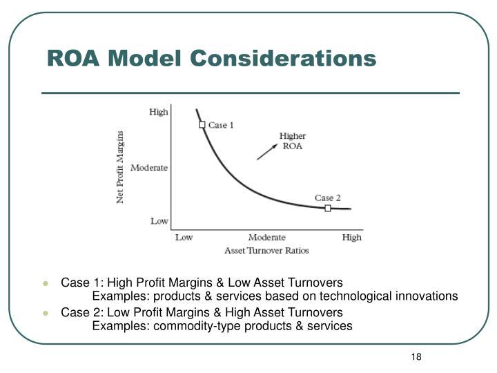 ROA Model Considerations