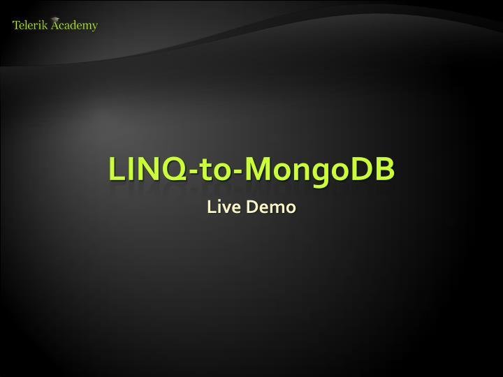LINQ-to-MongoDB