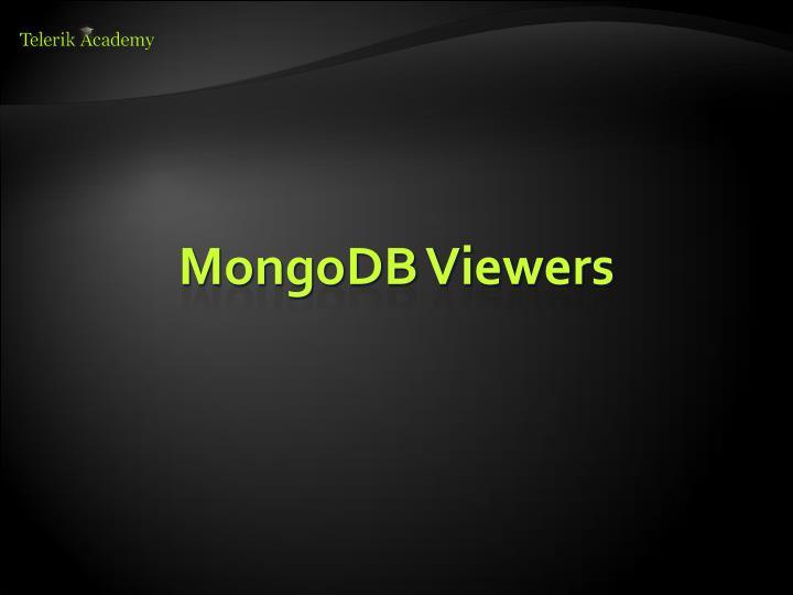 MongoDB Viewers