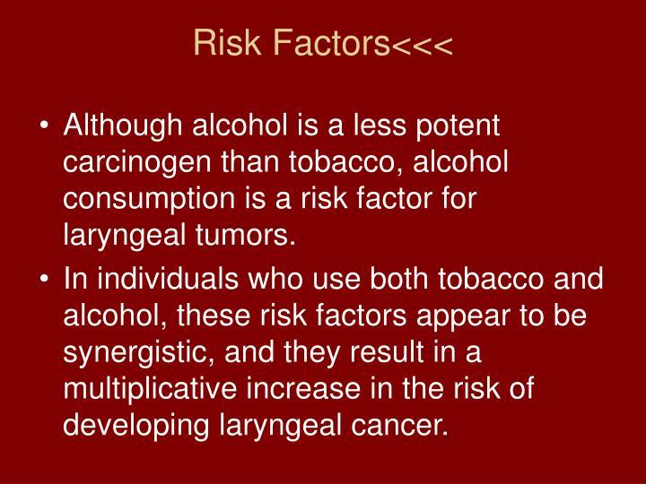 Risk Factors<<<
