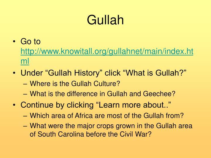 Gullah