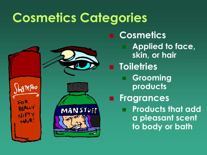 Cosmetics Categories