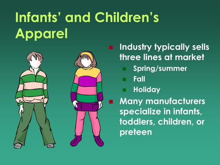 Infants' and Children's Apparel