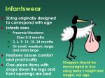 infantswear