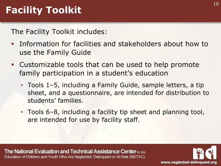 Facility Toolkit