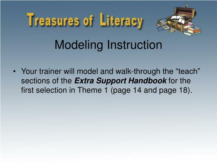 Modeling Instruction